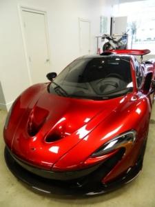 Ultimate series McLaren P1 in Volcano red.