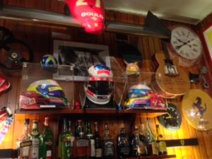 F1 memorabilia at the Montana